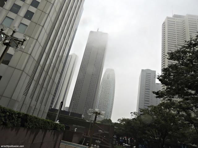 Niebla en Shinjuku, Tokio
