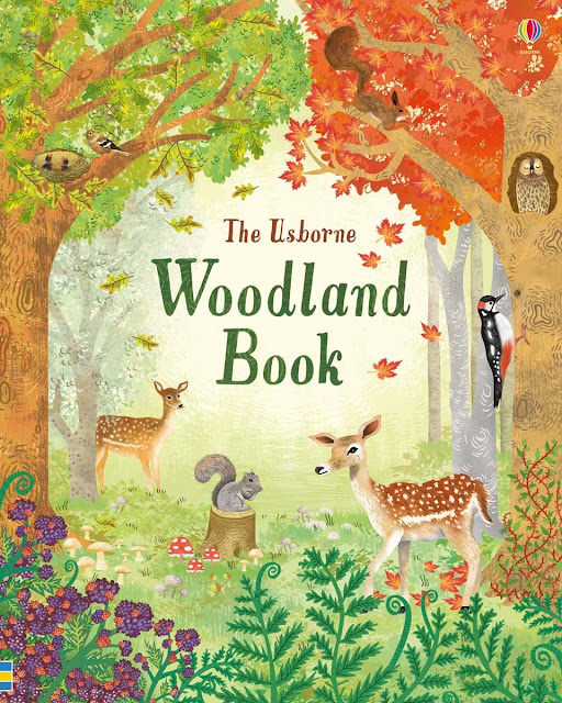 The Usborne Woodland Book Cover