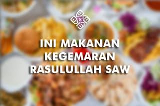 makanan kegemaran rasulullah