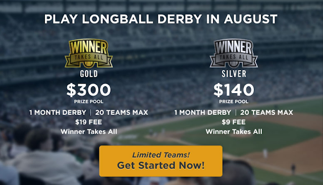 RotoDerby Longball Derby August