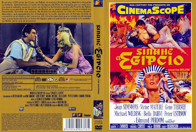 Sinuhe el egipcio | 1954 | The Egyptian | Caratula | Dvd Cover