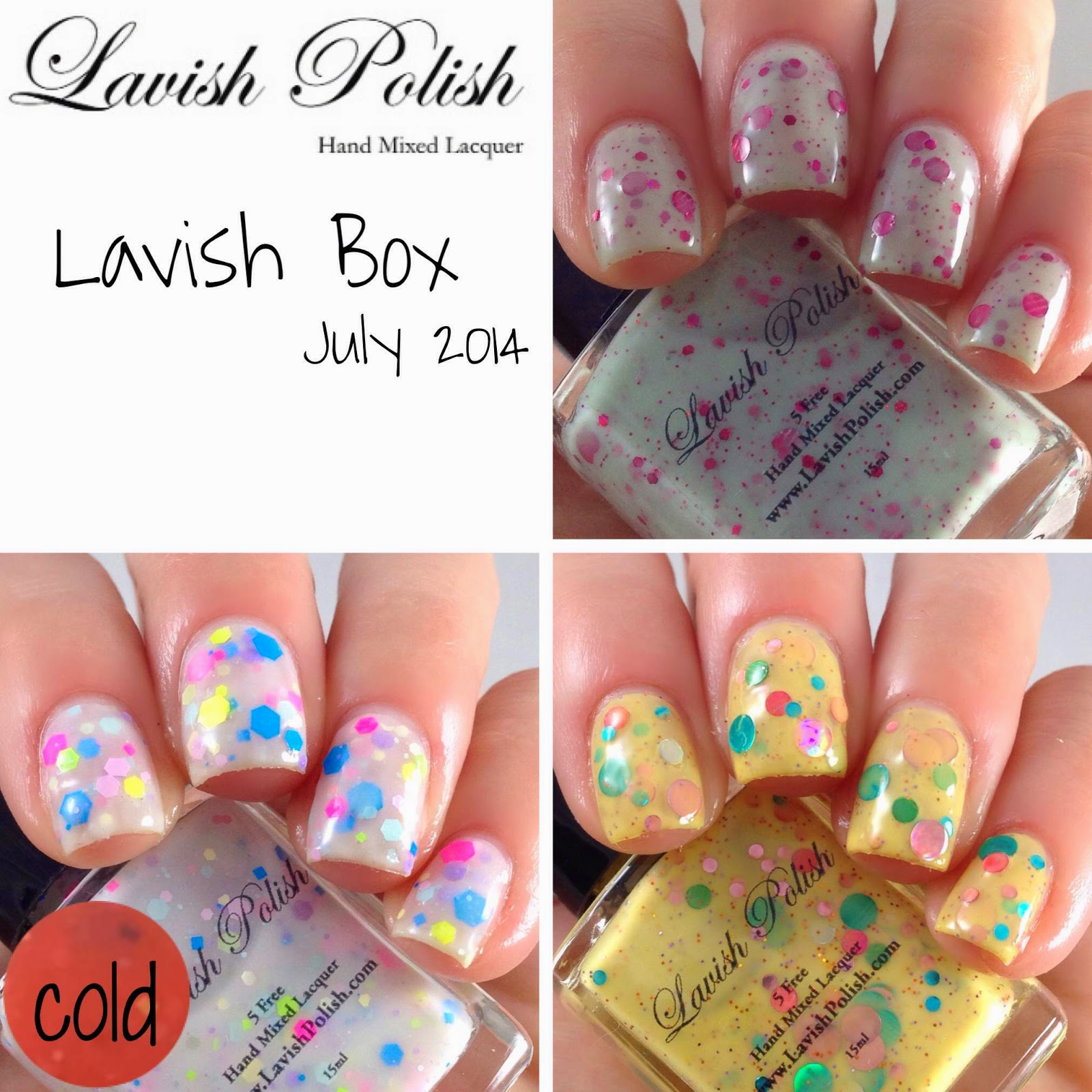 July 2014 Lavish Box | Lacquer: The Best Medicine! A Nail
