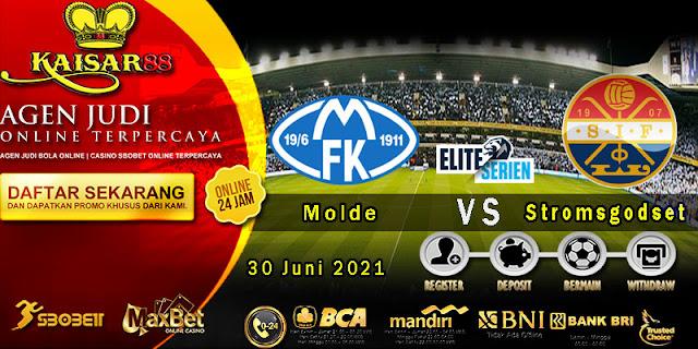 Prediksi Bola Terpercaya Liga Norway Molde vs Stromsgodset 30 Juni 2021