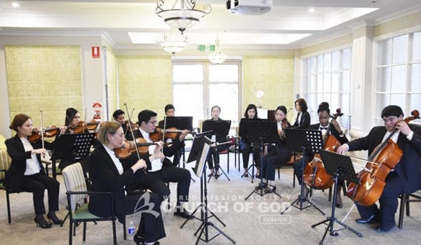 Feeling Comfort from Mother's Love Through Music – Concert for the Aged Care Residents