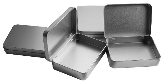 tin box storage