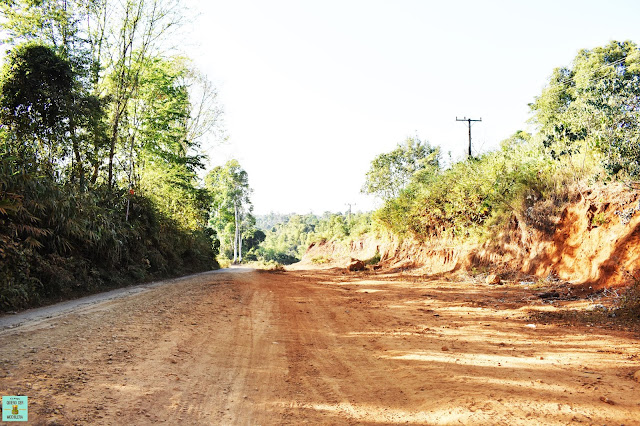 Caminos secundarios loop de Bolaven Plateau, Laos