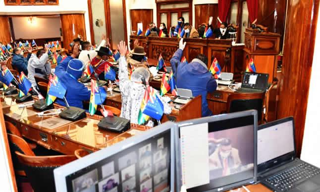 Cámara de Diputados sanciona ley para hacer elecciones hasta el 18 de octubre