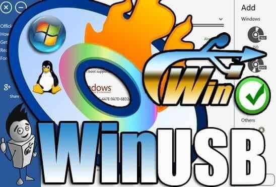 تحميل برنامج WinUSB لحرق اكثر من نسخة ويندوز على فلاشة واحدة بكل سهولة