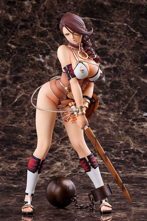 FIGURA CAPTURED DRAGON WARRIOR BRANWEN QUEEN'S BLADE REBELLION