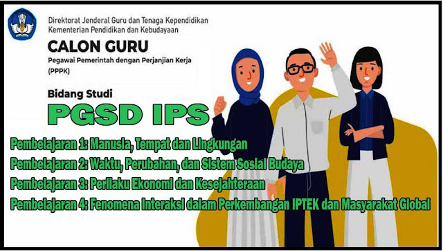 Soal dan Jawaban PGSD IPS Pembelajaran 1: Manusia, Tempat dan Lingkungan