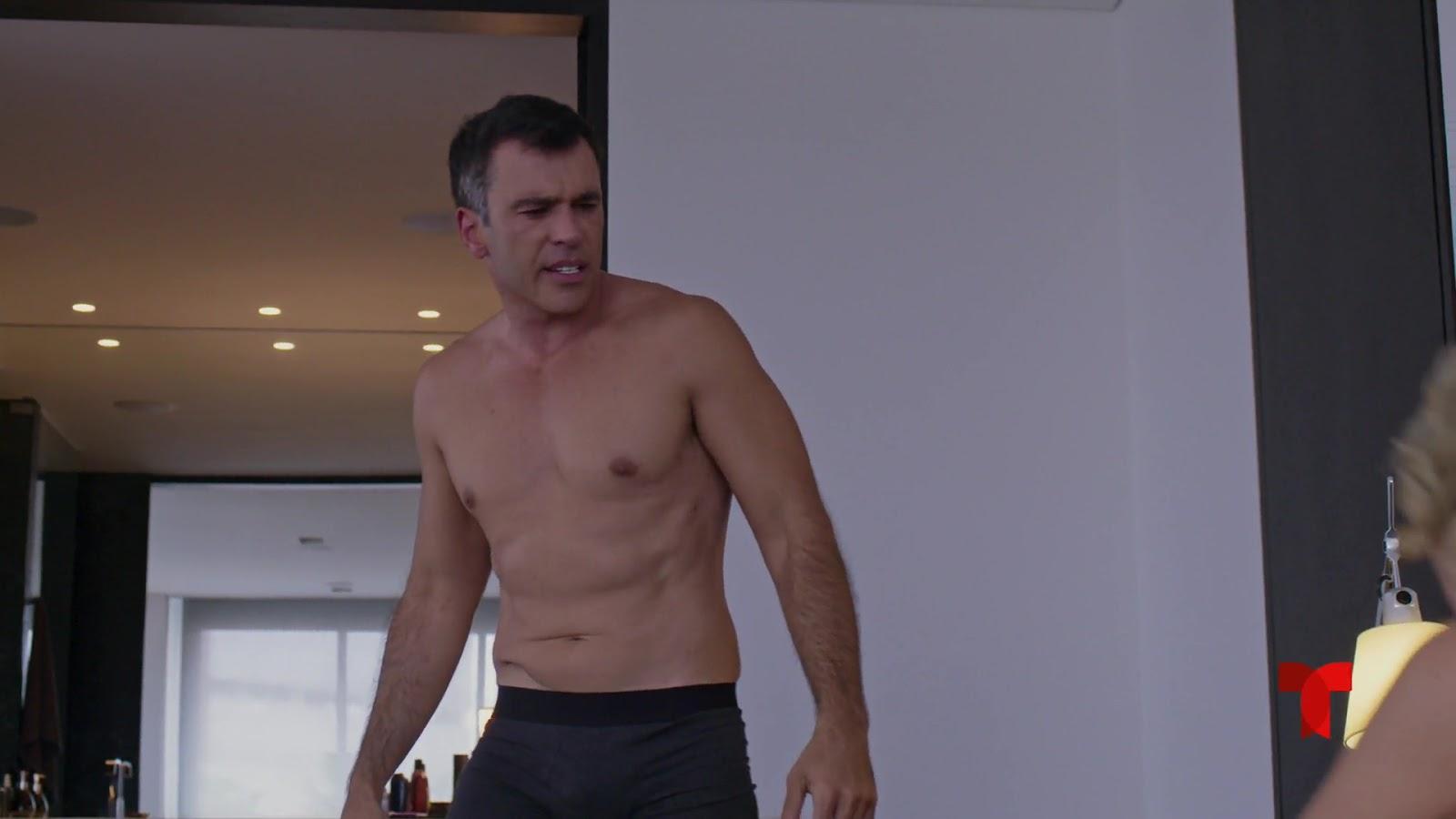 Shirtless Men On The Blog: Spencer Falls Shirtless