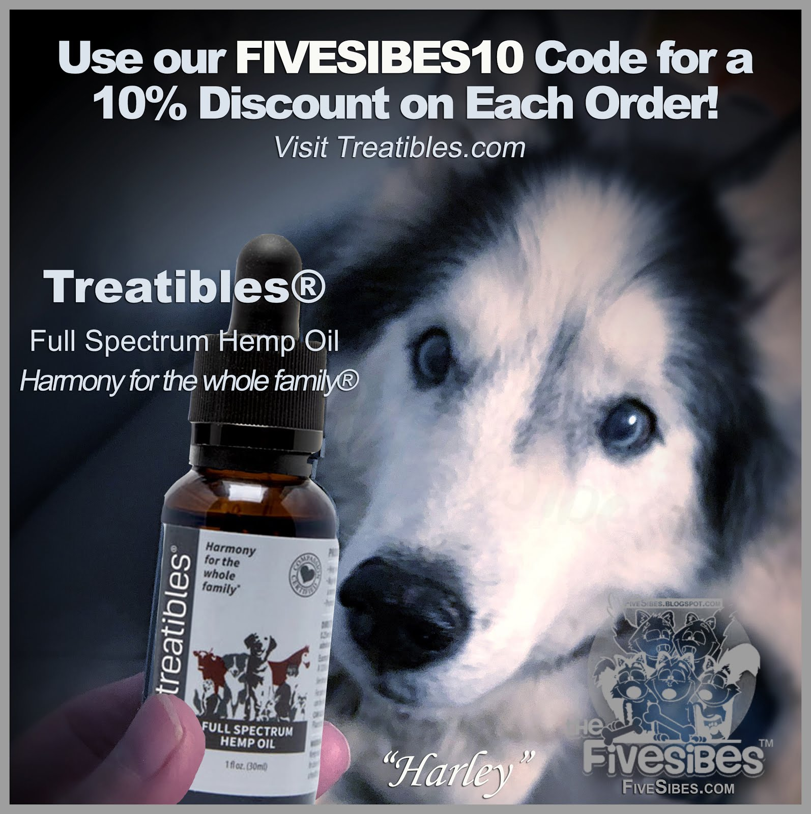 Use Our Treatibles  Discount Code!