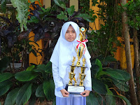 Siswi MTsN 1 Malang Raih Juara 2 OSN Tingkat Kota Malang