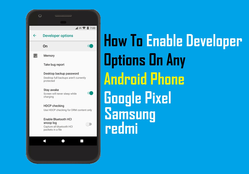 How To Enable Developer Options On Any Android