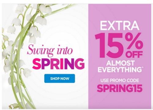 The Shopping Channel Extra 15% Off Swing Into Spring Promo Code