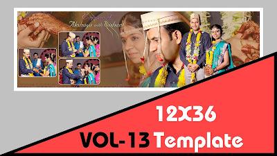 Indian Wedding 12x36 Dm Psd Template Vol 13 Free Download