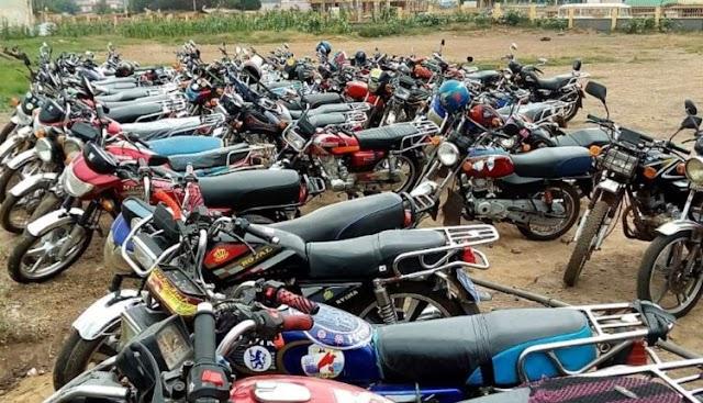 Over 40 Motorbikes Seized For Various Offenses In Takoradi