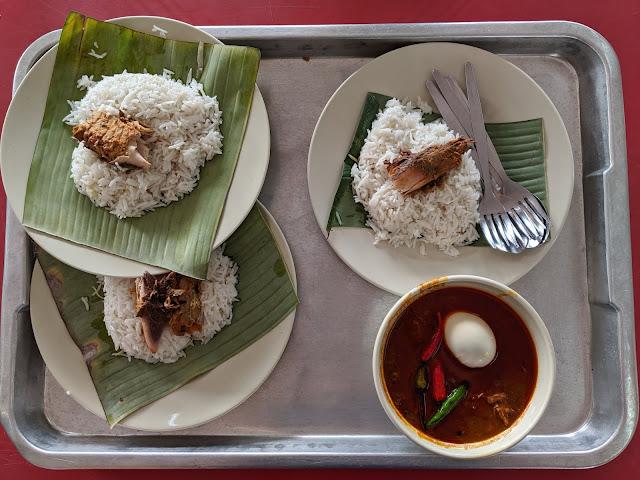 nasi dagang atas tol kuala terengganu