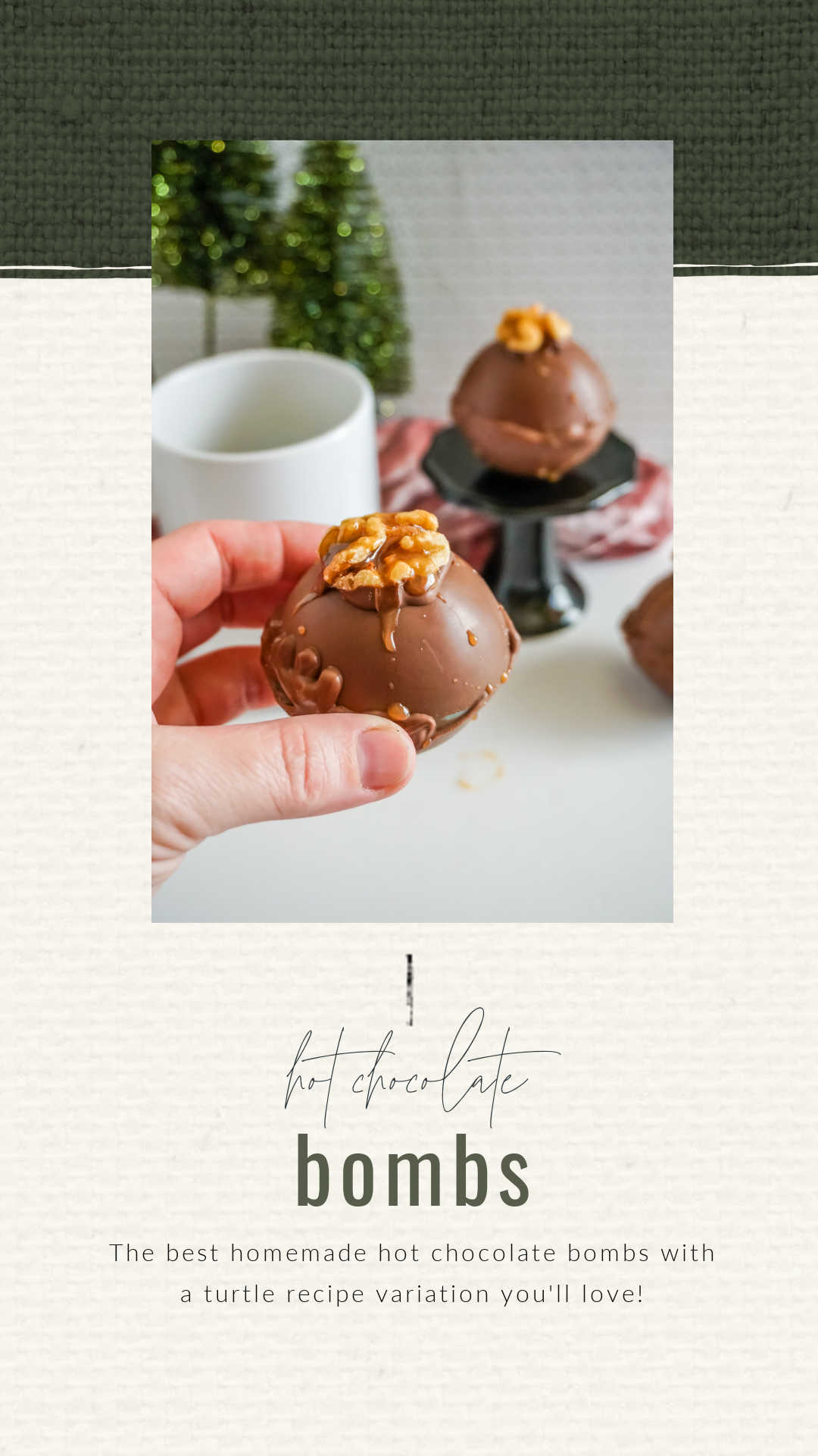 turtle flavored hot chocolate bomb recipe