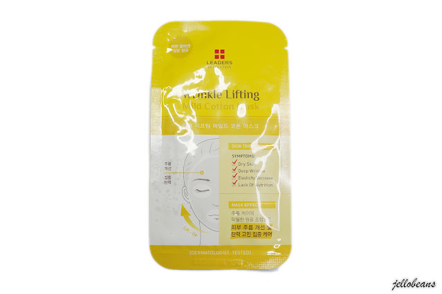 Leaders Wrinkle Lifting Mild Cotton Mask