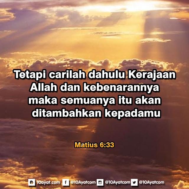Matius 6:33