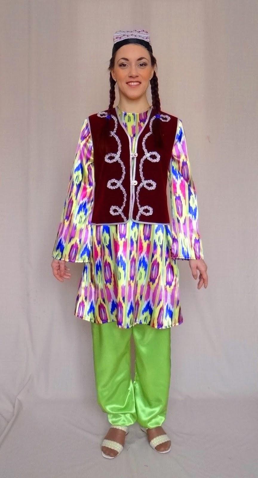 Национальный костюм узбечки картинки если хочешь