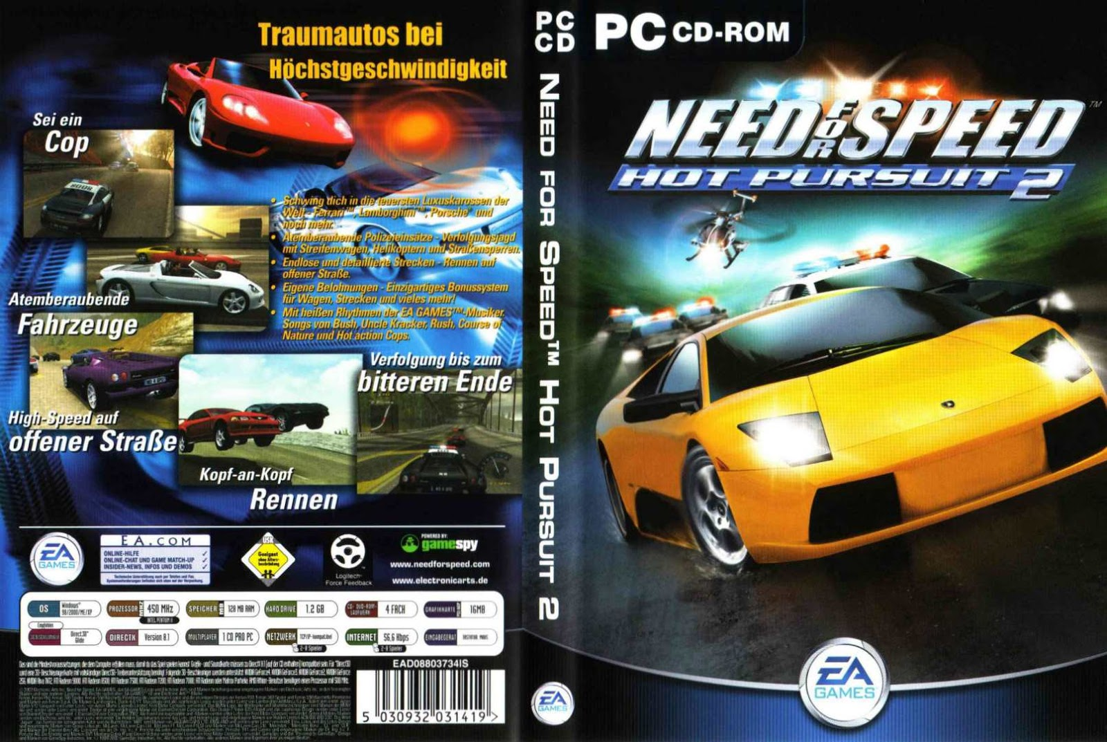 Ezgamesdl Need For Speed Hot Pursuit 2 Highly Compressed 110mb Pc