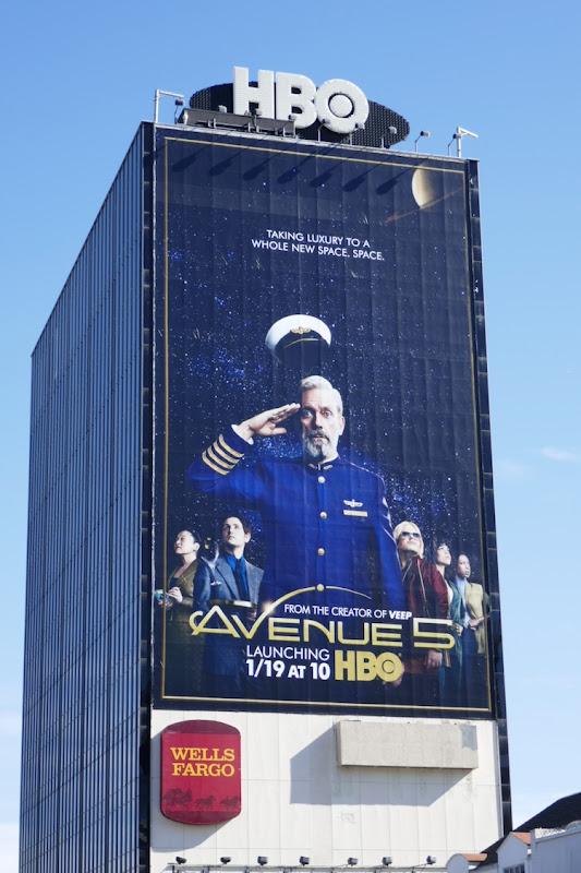 Giant Avenue 5 season 1 billboard