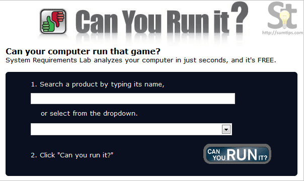 Can you run it?