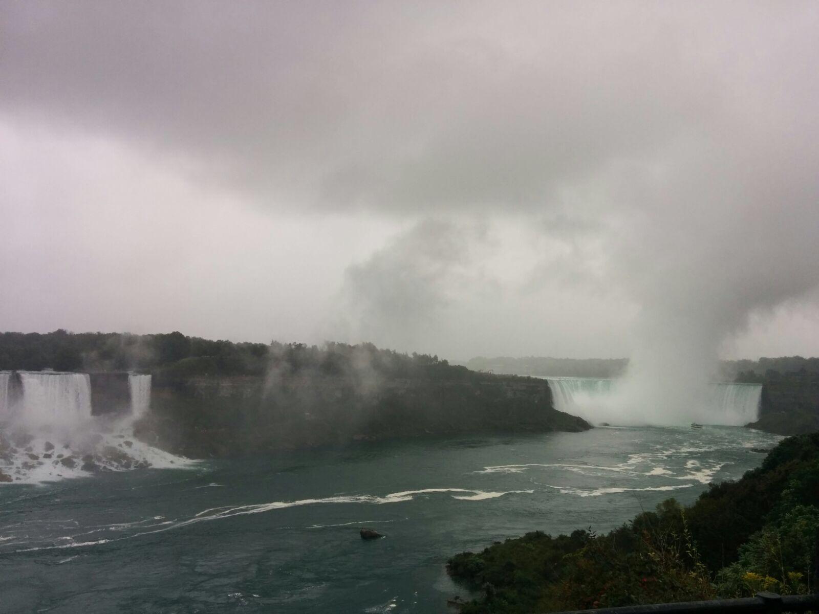 Niagara Falls - view from the shore