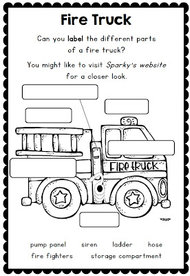 Clever Classroom: Fire Safety Week with Sparky the Fire
