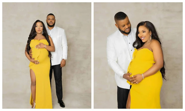 The Lord has made everything beautiful- Sandra Ikeji says as she welcomes a Baby girl (Photos)