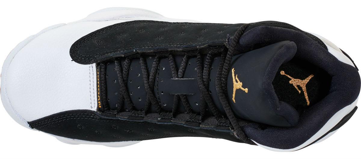 8bc216a4bc93e Air Jordan 13 Retro GG Release Date: 02/24/18. Color: Black/Metallic Gold- White-Gum Medium Brown Style #: 439358-021. Price: $140