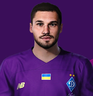 PES 2021 Faces Georgiy Bushchan by Korneev