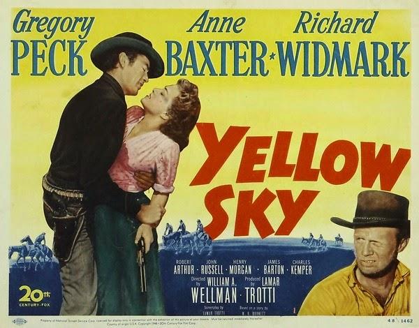 Resultado de imagen de yellow sky 1948 soundtrack