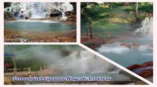 Pemandian Air Panas Didekat Villa Istana Bunga Parongpong Lembang