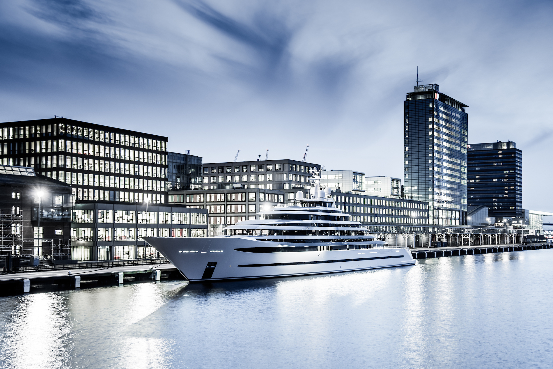 Unusual feats of design and remarkable security from Oceanco