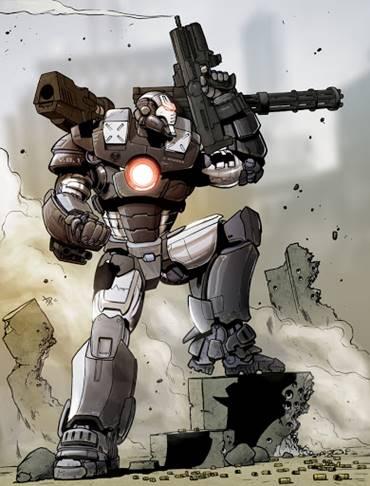 James Rhodes es Máquina de Guerra
