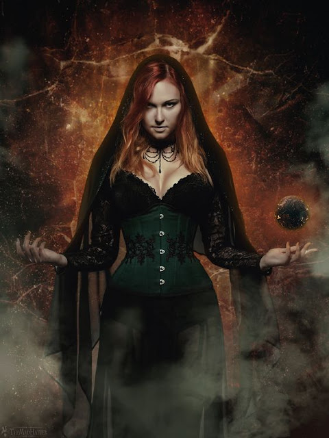 Occult magic, tarot related pictures , witch photography,  pictures of witches