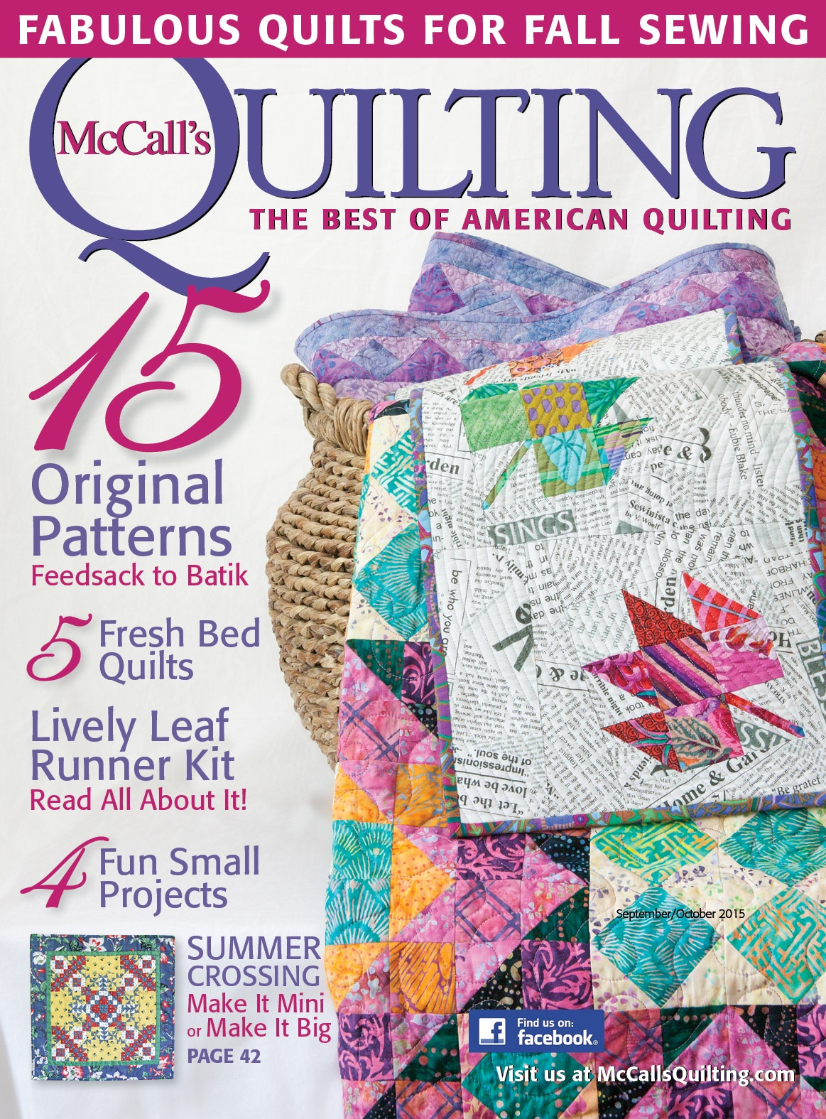 Violet Posies Quilt featured in: