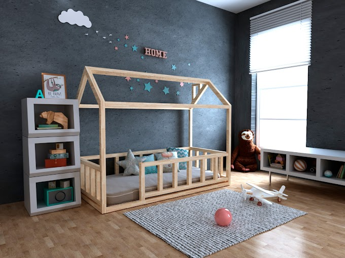 Кровать-домик Тедди Плюс 70х140  ТМ MegaOpt