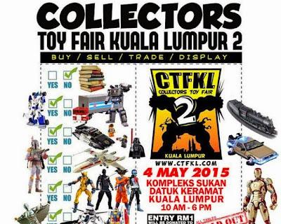 Pekomik @ Collectors Toy Fair Kuala Lumpur 2015 (CTFKL'15) pada 4/5/15