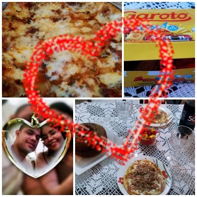 Achegue-se! Meu primeiro Vlog Dia dos namorados2016 - lasanha, pizza ...
