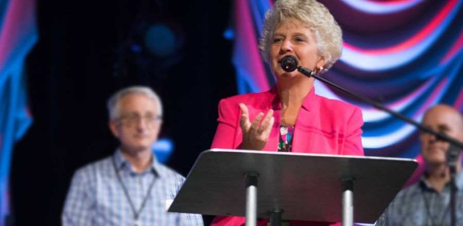 Donna Barrett, Assemblies of God