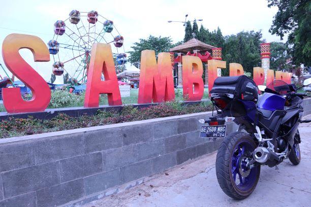 Lapangan Samber Park kota Metro Lampung