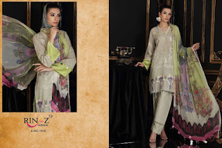 Rinaz Fashion Charizma Vol 5 Cabric Cotton Pakistani Suits