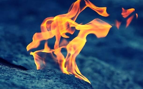 Wisata api abadi sungai siring