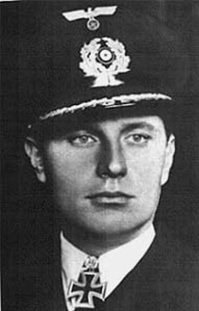 Korvettenkapitän (later Fregattenkapitän) Klaus Scholtz, commander of U-108 which is operating off the east coast of the United States on 6 February 1942, worldwartwo.filminspector.com