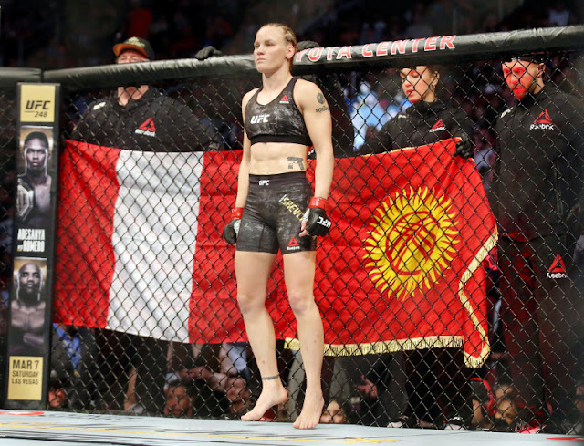 Valentina Shevchenko UFC 247 4