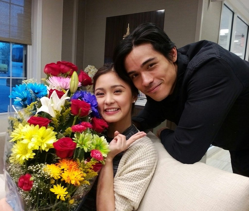 kim and xian exclusively dating but no relationship